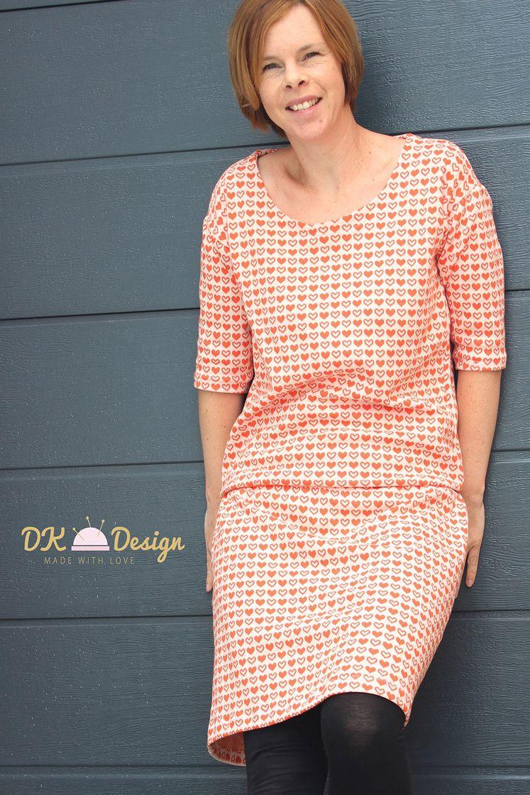 Ebook Cool Queen Dress 2 0 Kleid Maxikleid Gr 32 Bis 56 Jessy Sewing Schnittmuster Stoff Online Kaufen