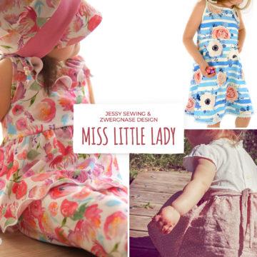 miss little lady schnittmuster und nähanleitung von jessy sewing